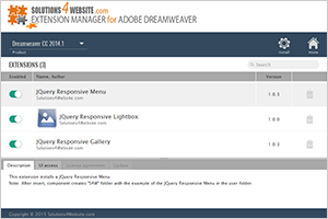 Online Help: Dreamweaver Extension Manager S4W